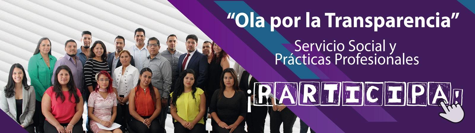 Banner Participa en la Ola por la Transparencia 2018