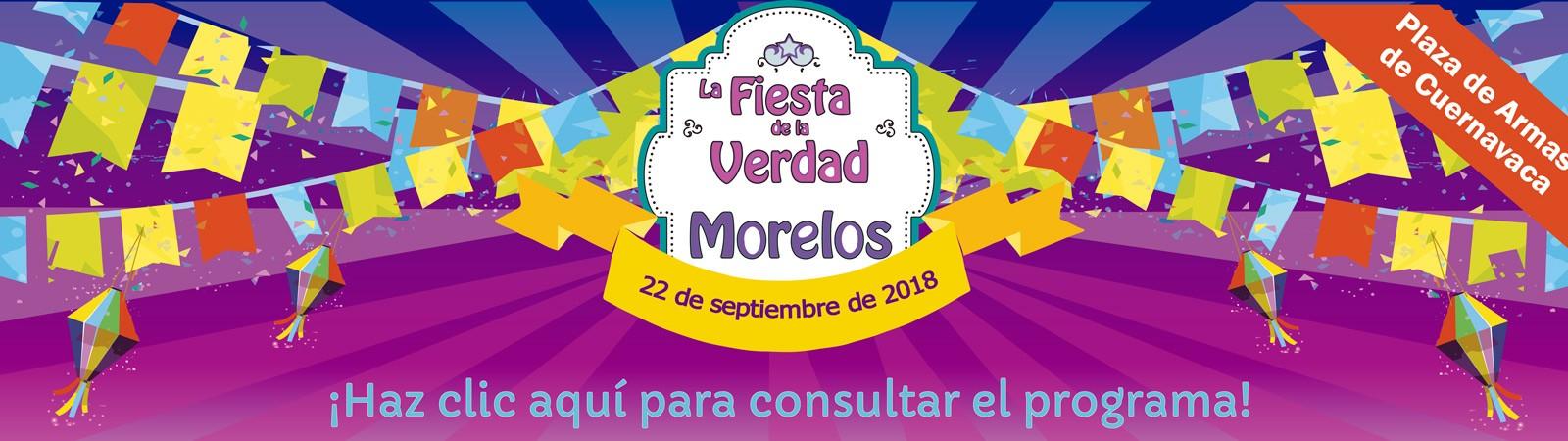 Banner de la Fiesta de la Verdad 2018