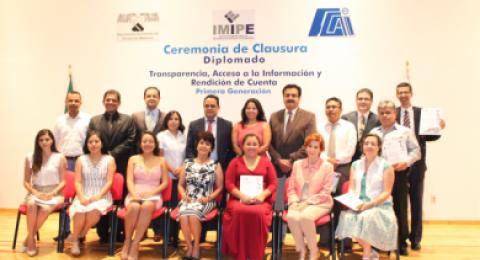 """<a href=""""/concluye-primera-generacion-diplomado-en-transparencia-impartido-por-el-imipe"""">Concluye Primera Generación Diplomado en Transparencia impartido por el IMIPE</a>"""