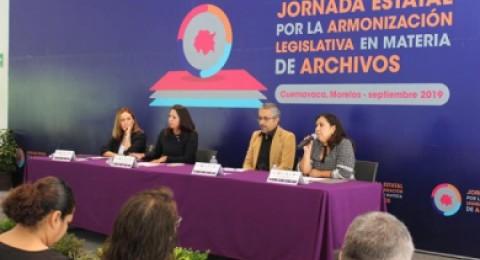 """<a href=""""/analizan-instituciones-la-armonizacion-de-la-ley-general-de-archivos-para-morelos"""">Analizan instituciones la Armonización de la Ley General de Archivos para Morelos</a>"""