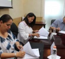 Fotografía de la comisionada presidenta del IMIPE y la directora de Conalep Morelos