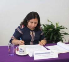 Comisionada Dora Ivonne Rosales Sotelo