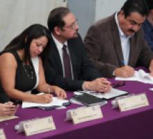 Firma de Carta Compromiso por la Transparencia