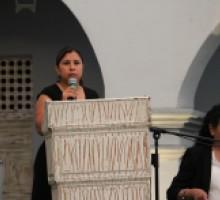 Foto Comisionada del IMIPE, Mireya Arteaga