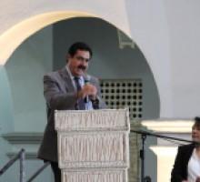 Foto Comisionado del IMIPE, Víctor Díaz