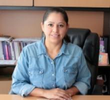 Comisiona presidenta, Dora Ivonne Rosales Sotelo.