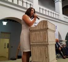 Foto comisionada presidenta del IMIPE, Dpra I. Rosales