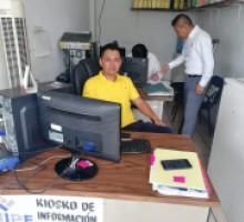 La Coordinación  de Evaluación en visita a Sujeto Obligados 2