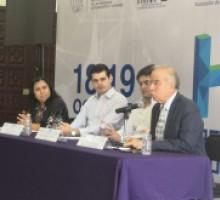 """Rueda de prensa """"Hackathon Morelos"""" 2019."""