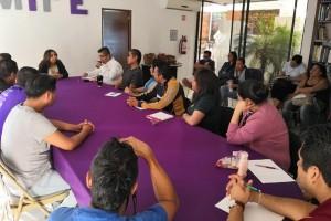 Inician los trabajos de Mireya Arteaga al frente del IMIPE