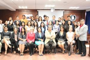 Asiste el IMIPE a presentación de proyectos finales de estudiantes que cursan la materia de Transparencia en la UAEM.