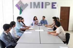 """Da bienvenida el IMIPE  participantes del programa nacional """"Jóvenes Construyendo el Fututo"""""""