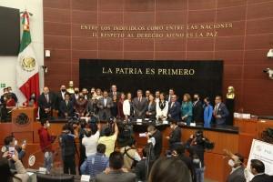 ASISTE IMIPE A FIRMA DE CONVENIO ENTRE INAI Y SENADO