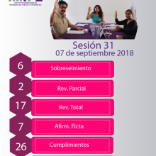 Infografía de la Sesión 31